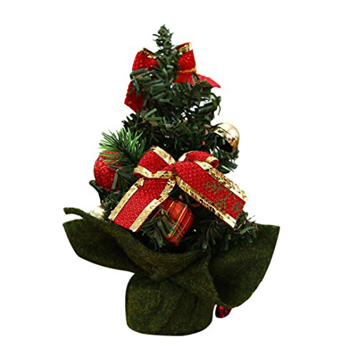 Nesee Christmas Decor,Merry Christmas Tree Bedroom Desk Decoration Toy Doll Gift Office Home Children (C)