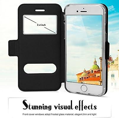 9672addc168 FYY Funda iPhone 6, Funda iPhone 6S, De Soporte Magnetico en la ...