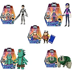 Funko Trollhunters Blinky, Argh, Toby, Claire, Jim 3 3/4-Inch Action Figures Set