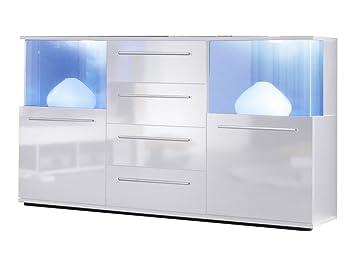 trendteam smart living Wohnzimmer Sideboard Kommode Schrank Punch ...