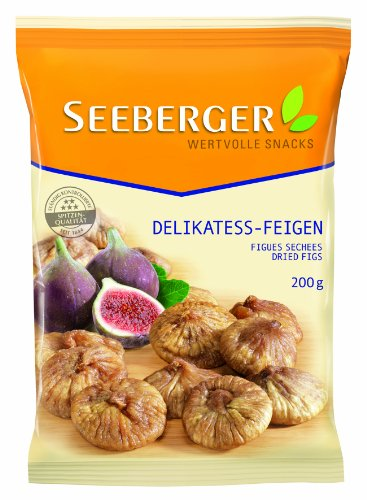 Seeberger Delikatess-Feigen, 3er Pack (3 x 200 g)