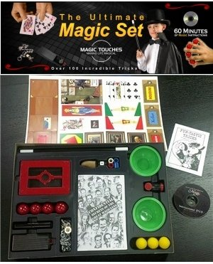 Magic Touches - Magic Tricks Set for Kids with Over 200 Tricks. Magic Kit Includes DVD Tutorial Explaining The Classics in The Kit by Magic Touches Making Life Magical (Image #2)