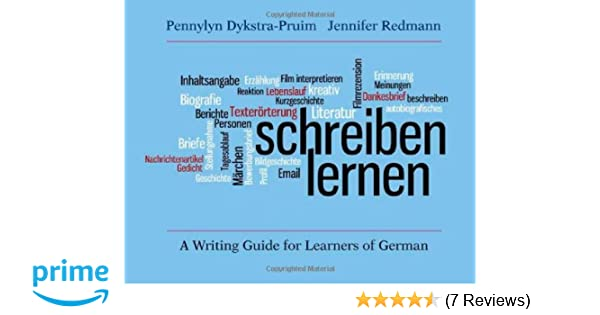 Amazon.com: Schreiben lernen: A Writing Guide for Learners of German ...