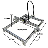 Disassembled 10W laser Engraving Machine 10000MW 3040cm Metal,Stone,Ceramic ,Stainless steel ,Iron,Aluminium,etc .Laser engraver marking machine
