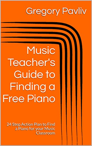 Music Teacher Finding a Free Piano Guide