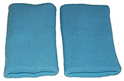 Protective Cotton Knee Pads for Babies, Toddlers and Older Children (6 Months to 5 Yrs +) - Outdoor / Indoor Use (Blue)