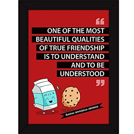 fatmug true friends understand framed quotes on friendship funny