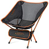 G4Free Lightweight Portable Chair Outdoor Folding Backpacking Camping Chairs for Sports Picnic Beach