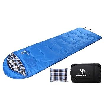 Amazon.com: CAMEL Saco de dormir ligero portátil impermeable ...