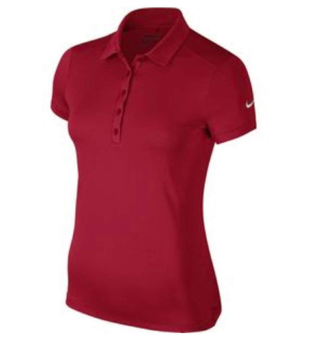 Nike Victory Solid Golf Polo 2017 Women Team Crimson X-Small