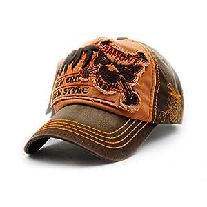 Amazon.com : Gorras Beisbol Planas Snapback Caps Wolf Bone