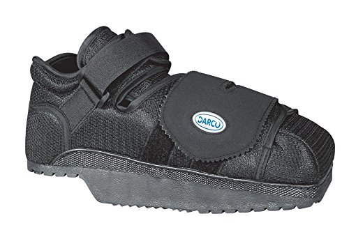 Complete Medical Heel Wedge Healing Shoe, Small, 0.76 Pound