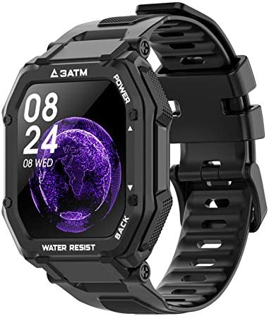 Smart Watches for Men Women, Activing Fitness Tracker with Heart Rate Blood Oxygen Monitoring 3ATM Waterproof 1.69 inch Full Touch Screen Smart Watch for iOS Android
