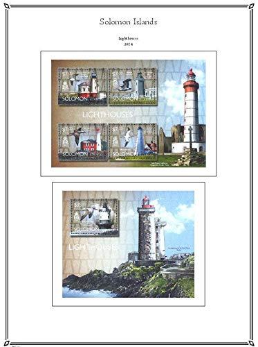 PALO Solomon Islands 2014 hingeless Stamp Album Pages
