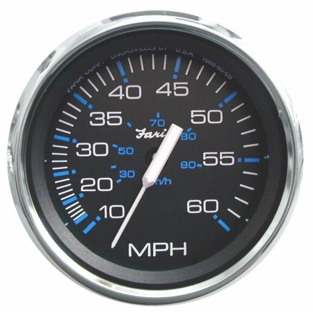 Speedometer, 50 MPH, 4'', Sender Required