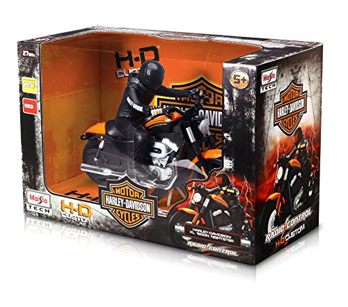 Maisto R/C Harley Davidson XL 1200N Nightster with Rider Radio Control Vehicle (Colors May Vary) - Remote Control Items