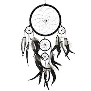 Amazon Dream Catcher Handmade Traditional Black White