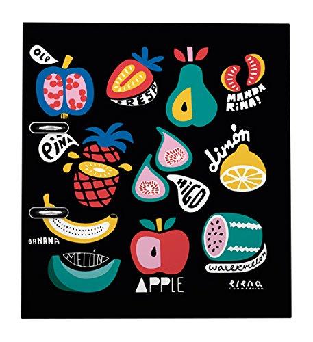 Grafoplas Elena Correidora - Archivador con palanca de 65 mm, A4, diseño 16 Frutas: Amazon.es: Oficina y papelería