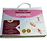 Waterproof Baby Crib Mattress Protector by Bunny Our Fitted Cover is Made with Hypoallergenic Ultra Soft Organic Cotton to Keep Your Little One Comfortable Washer and Dryer Safe Easy Cleaning