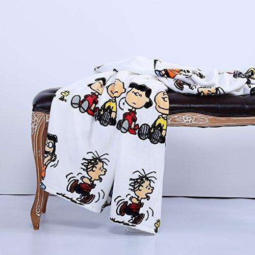 Buy snoopy plush blanket