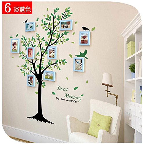 famous-wall-stickers-9-box-pastoral-air-fresh-wall-sticker-photo-frame-combo-creative-diy-fashion-li
