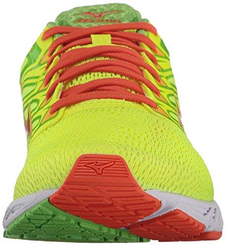 Yellow Wave Yellow Red Paradox Green Jasmine Shoe 4 Safety Running Men's Mizuno Orange gFwY8