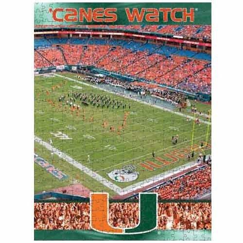 (NCAA Miami Hurricanes 550-Piece Stadium Photo Puzzle )