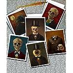 Skeleton Print - Headless - Skull Print - Victorian - Gothic - Steampunk 7