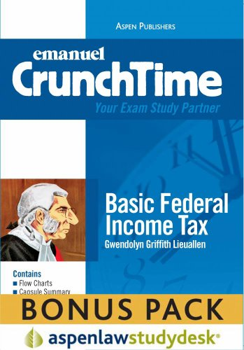 CrunchTime: Basic Federal Income Tax (Print + eBook Bonus Pack)
