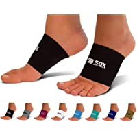 SB SOX Compression Arch Sleeves for Men & Women - Perfect Option to Our Plantar Fasciitis Socks - for Plantar Fasciitis Pain Relief and Treatment for Everyday Use with Arch Support
