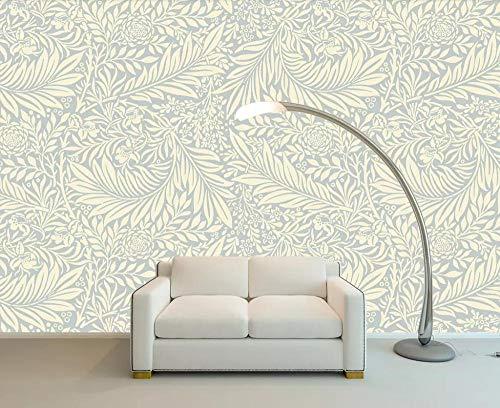 Wallpaper 3D Pattern Floral Hand-Painted Simple Modern Living Room Bedroom Large Mural Wall ()