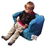 "Alta Lil Boss Bean Bag Chair for Toddlers, Babies and Young Kids (COVER ONLY) Made Stain and Water Resistant for Indoor and Outdoor Use. 17.71"" x 21.65"" Aqua"
