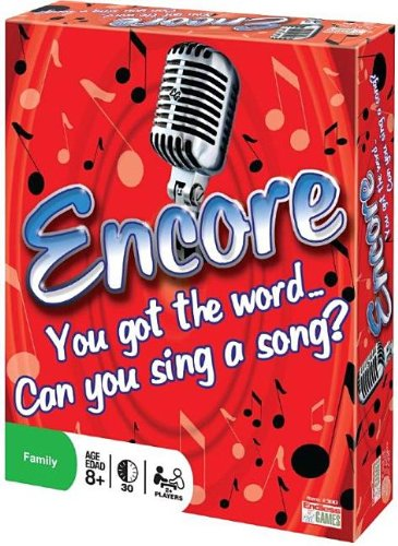 2008 Perfect Game - Endless Games Encore Board Game - Sing Songs to Win