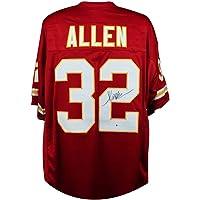 $149 » Marcus Allen Autographed Kansas City Chiefs Custom Football Jersey - BAS COA