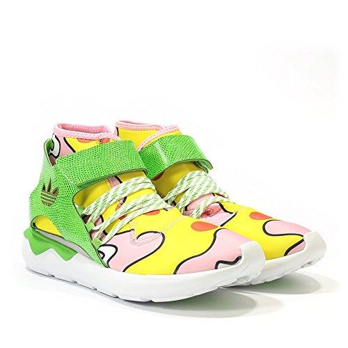 adidas Jeremy Scott Tubular Mens in Yellow/Green ()