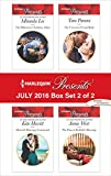 Harlequin Presents July 2016 - Box Set 2 of 2: The Billionaire's Ruthless Affair\Moretti's Marriage Command\The Unwanted Conti Bride\The Flaw in Raffaele's Revenge (Rich, Ruthless and Renowned)