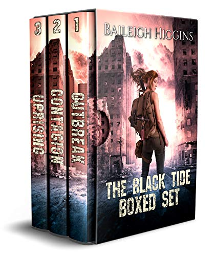 The Black Tide: Boxed Set (A Post-Apocalyptic Thriller Books 1-3) by [Higgins, Baileigh]
