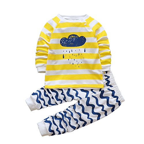 Baby pajamas are made of gentle fabrics that feel comforting to newborns. The adorable patterns and beautiful colors stay true, even after a thorough scrub in the washing machine. Sears has everything from flowy gowns to fluffy robes and classic pajama sets to help your baby get a good night's sleep.