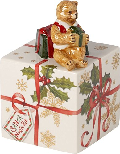 Multi-Colour 14 x 14.5 x 20 cm Villeroy /& Boch Nostalgic Melody North Pole Express Music Box Porcelain