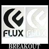 FLUX LOGO 1 Mサイズ ステッカー スノーボード