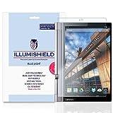 Lenovo Yoga Tab 3 Pro Screen Protector [1-Pack], iLLumiShield - (HD) Blue Light UV Filter / Premium Clear Film / Anti-Fingerprint / Anti-Bubble Shield