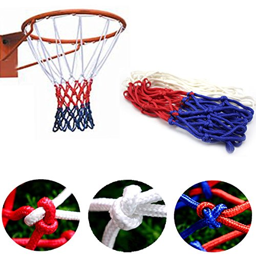 AMAZZANG-Universal Indoor Outdoor Sport Replacement Basketball Hoop Goal Rim Net Nylon (Bag Newmarket)
