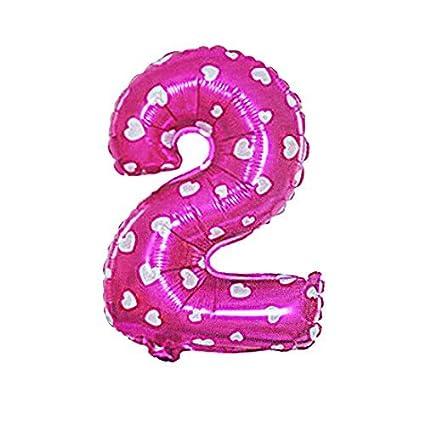Amazon.com: eDealMax Número 2 Foil Festival de Aniversario ...