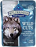 Blue Buffalo Wilderness Trail Toppers Chunky Chicken Bites Dog Food, 24 By 3 Oz. Review