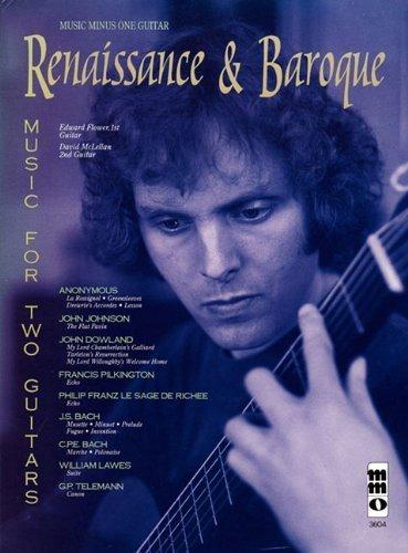 Music Minus One Guitar: Renaissance & Baroque Guitar Duets (Book & CD) (Music Minus One (Numbered)) (2011-08-10)