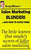 img - for Effective Salon Marketing: For Salon Owners Who Want To Become Business Owners book / textbook / text book