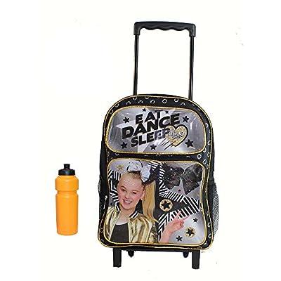 New Jojo Siwa Eat Dance Sleep Rolling Backpack delicate