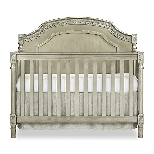 (Evolur Julienne 5 in 1 Convertible Crib Pewter/Antique)