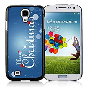 Best Buy Samsung S4 TPU Protective Skin Cover Merry Christmas Black Samsung Galaxy S4 i9500 Case 50