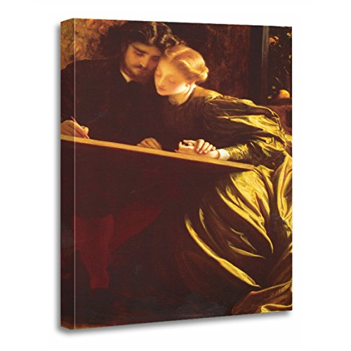 TORASS Canvas Wall Art Print Frederic The Painter's Honeymoon Leighton Fine Painters Artwork for Home Decor 12
